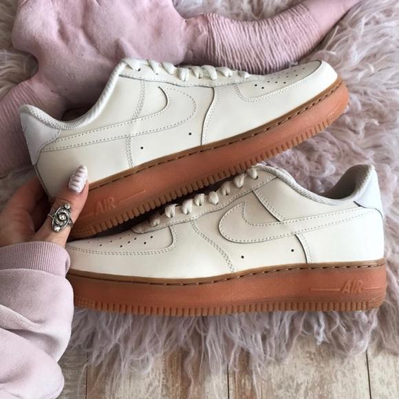 Nike Custom Id Air Force Beige Gum Sole